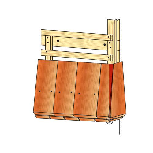 bitumenschindeln verlegen anleitung dachpappe schindeln. Black Bedroom Furniture Sets. Home Design Ideas